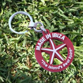 Key Ring Red Star