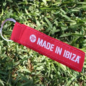 Key Ring Red Ribbon