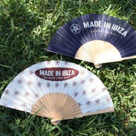 Wooden Hand-Held Folding Fan