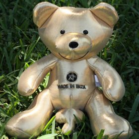 Gold Starry Bear